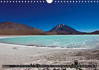 Bolivia Andean landscapes / UK-Version (Wall Calendar 2019 DIN A4 Landscape) - Produktdetailbild 4