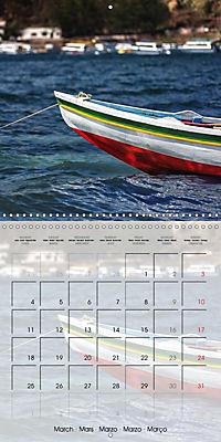 BOLIVIA Lake Titicaca and Copacabana (Wall Calendar 2019 300 × 300 mm Square) - Produktdetailbild 3
