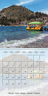 BOLIVIA Lake Titicaca and Copacabana (Wall Calendar 2019 300 × 300 mm Square) - Produktdetailbild 2
