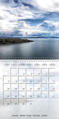BOLIVIA Lake Titicaca and Copacabana (Wall Calendar 2019 300 × 300 mm Square) - Produktdetailbild 1