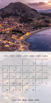 BOLIVIA Lake Titicaca and Copacabana (Wall Calendar 2019 300 × 300 mm Square) - Produktdetailbild 8