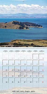 BOLIVIA Lake Titicaca and Copacabana (Wall Calendar 2019 300 × 300 mm Square) - Produktdetailbild 6