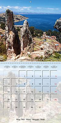 BOLIVIA Lake Titicaca and Copacabana (Wall Calendar 2019 300 × 300 mm Square) - Produktdetailbild 5