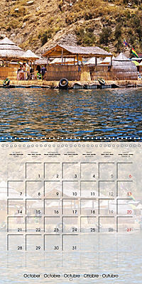 BOLIVIA Lake Titicaca and Copacabana (Wall Calendar 2019 300 × 300 mm Square) - Produktdetailbild 10