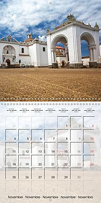 BOLIVIA Lake Titicaca and Copacabana (Wall Calendar 2019 300 × 300 mm Square) - Produktdetailbild 11