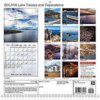 BOLIVIA Lake Titicaca and Copacabana (Wall Calendar 2019 300 × 300 mm Square) - Produktdetailbild 13