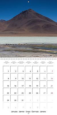 Bolivia (Wall Calendar 2018 300 × 300 mm Square) - Produktdetailbild 1