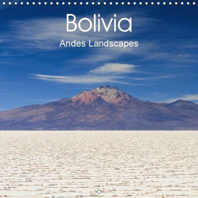 Bolivia (Wall Calendar 2018 300 × 300 mm Square), Juergen Schonnop