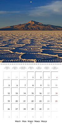 Bolivia (Wall Calendar 2018 300 × 300 mm Square) - Produktdetailbild 3