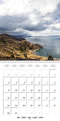 Bolivia (Wall Calendar 2018 300 × 300 mm Square) - Produktdetailbild 7