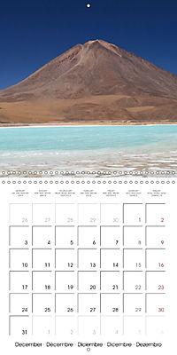 Bolivia (Wall Calendar 2018 300 × 300 mm Square) - Produktdetailbild 12