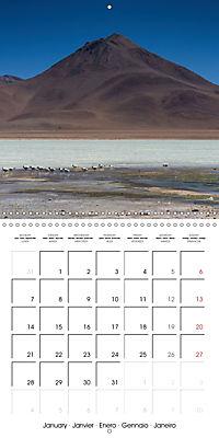 Bolivia (Wall Calendar 2019 300 × 300 mm Square) - Produktdetailbild 1
