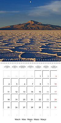 Bolivia (Wall Calendar 2019 300 × 300 mm Square) - Produktdetailbild 3