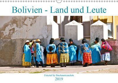 Bolivien - Land und Leute (Wandkalender 2019 DIN A3 quer), Michael Schäffer