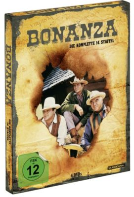 Bonanza - Staffel 14, David Dortort, Michael Landon, Preston Wood, Ward Hawkins, John Hawkins, Thomas Thompson, Frank Chase, Frank Cleaver, Jack B. Sowards