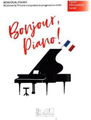 Bonjour, piano ! - English version, Klavier