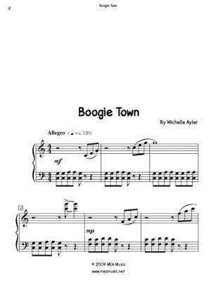 Boogie Town, Michelle Ayler