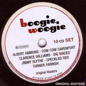 Boogie Woogie, 10 CDs, Diverse Interpreten