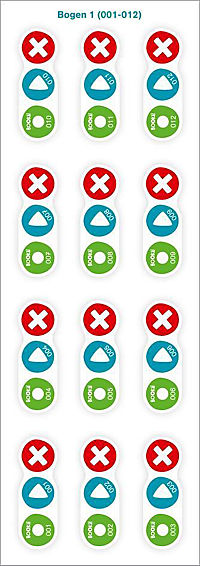 Bookii Aufnahme-Sticker - Produktdetailbild 1