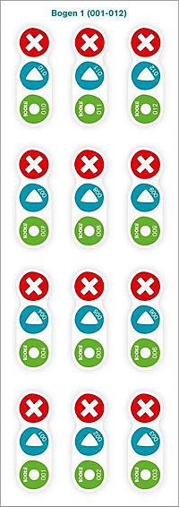 Bookii Aufnahme-Sticker - Produktdetailbild 2