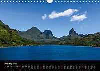 Bora Bora, Paradise islands (Wall Calendar 2019 DIN A4 Landscape) - Produktdetailbild 1