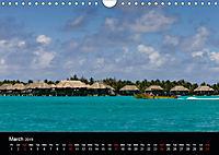 Bora Bora, Paradise islands (Wall Calendar 2019 DIN A4 Landscape) - Produktdetailbild 3