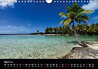 Bora Bora, Paradise islands (Wall Calendar 2019 DIN A4 Landscape) - Produktdetailbild 4