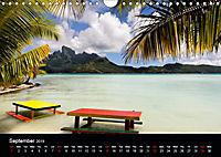 Bora Bora, Paradise islands (Wall Calendar 2019 DIN A4 Landscape) - Produktdetailbild 9