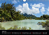 Bora Bora, Paradise islands (Wall Calendar 2019 DIN A4 Landscape) - Produktdetailbild 7