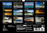 Bora Bora, Paradise islands (Wall Calendar 2019 DIN A4 Landscape) - Produktdetailbild 13