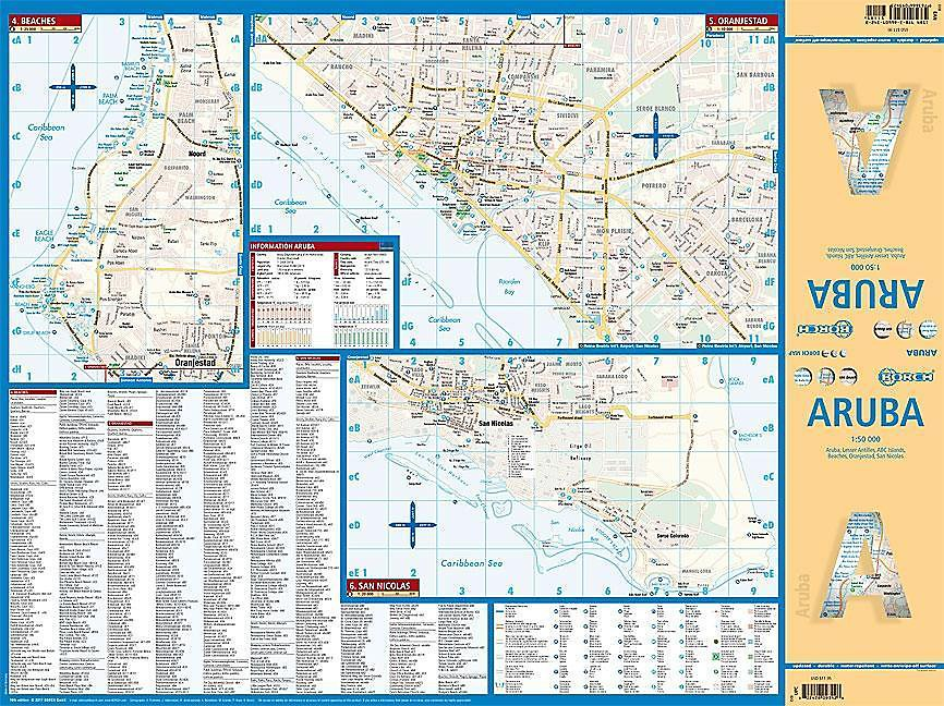 Borch Map Aruba Buch jetzt bei Weltbild.de online bestellen
