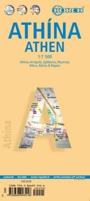 Borch Map Athina / Athen / Athens