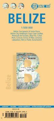 Borch Map Belize