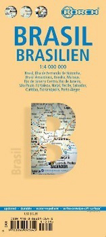 Borch Map Brasilien Brasil Brazil Buch bei Weltbild.ch bestellen