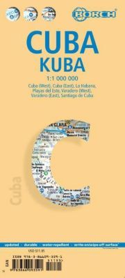 Borch Map Cuba; Kuba