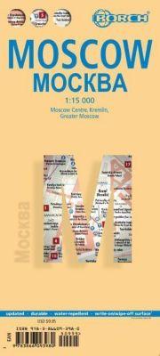 Borch Map Moscow / Mockba