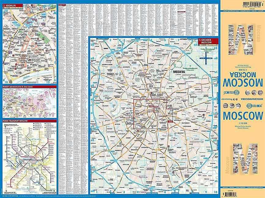 Borch Map Moscow Mockba Buch bei Weltbild.de online bestellen