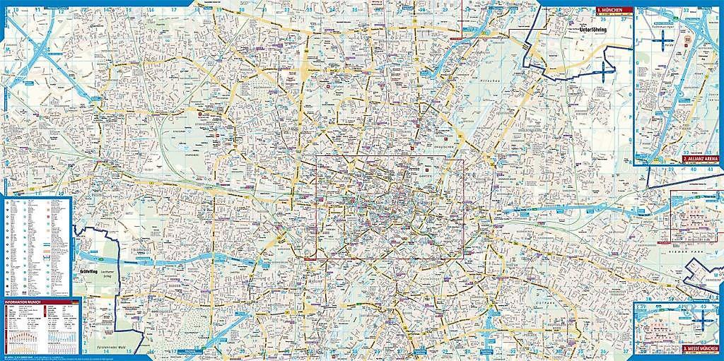 Borch Map München Munich Buch bei Weltbild.de online bestellen