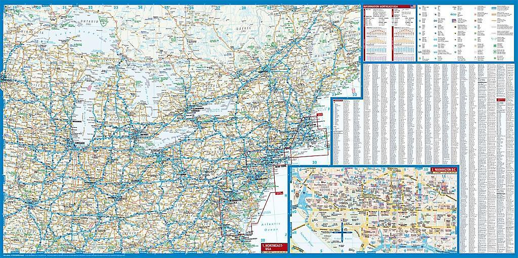 Borch Map Northeast-USA Buch bei Weltbild.de online bestellen