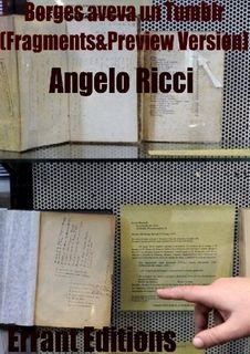Borges aveva un tumblr. Fragment &preview., Angelo Ricci