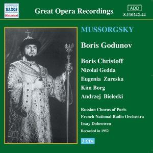 Boris Godunov, Dobrowen, Christoff, Gedda
