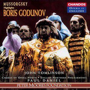 Boris Godunow (qs), Paul Daniel, English North.P.O.