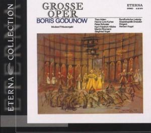 Boris Godunow (Qs/Deutsch), Adam, Kuhse, Schreier, Kegel, Staka Dre
