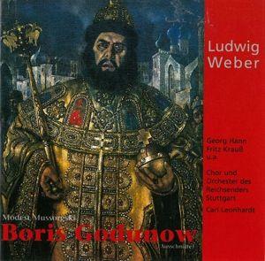 """Boris Godunow-Szenen, Weber, Sch""""llkopf, Schöllkopf, Leonhardt"""