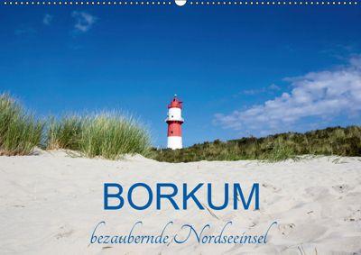 Borkum, bezaubernde Nordseeinsel (Wandkalender 2019 DIN A2 quer), Andrea Dreegmeyer