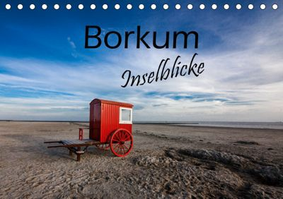 Borkum - Inselblicke (Tischkalender 2019 DIN A5 quer), H. Dreegmeyer