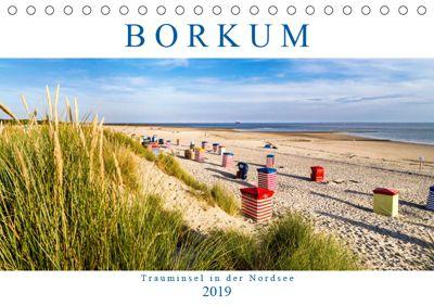 BORKUM Trauminsel in der Nordsee (Tischkalender 2019 DIN A5 quer), Andrea Dreegmeyer