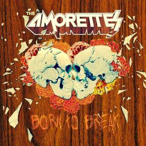 Born To Break (CD + 2 LPs, blaues Vinyl mit schwarzen Schlieren), The Amorettes