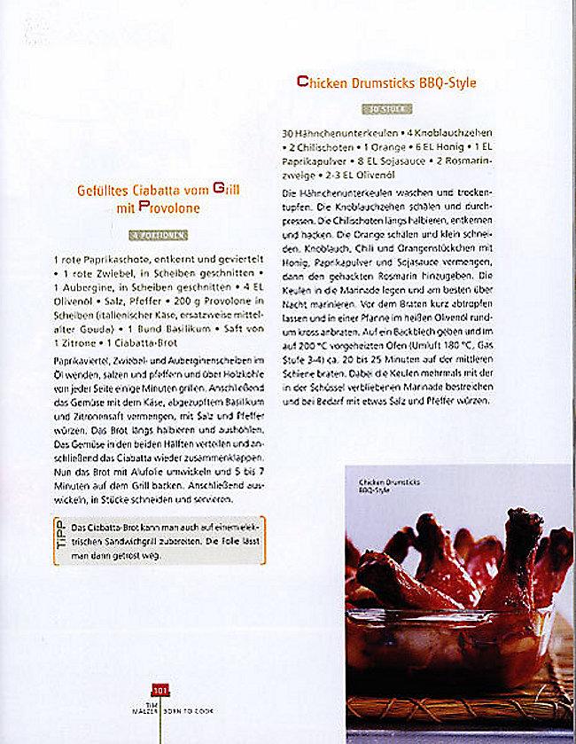 Born To Cook Buch Von Tim Mälzer Portofrei Bestellen Weltbildde
