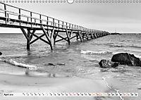 Bornholm black & white (Wandkalender 2019 DIN A3 quer) - Produktdetailbild 4